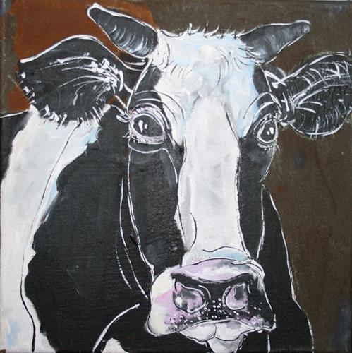 Regula Kummer, Kuh, Pepper/COw, Pepper, Tiere: Land, Gegenwartskunst