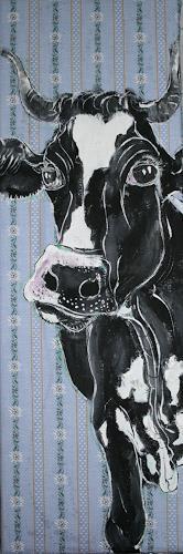Regula Kummer, Kuh, Quinn/Cow, Quinn, Tiere: Land, Gegenwartskunst