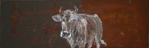 Regula Kummer, Kuh, Monja/Cow, Monia, Tiere: Land, Gegenwartskunst