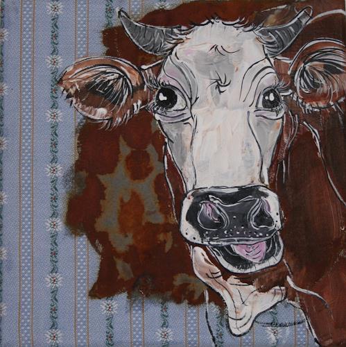 Regula Kummer, Kuh, Elonore, Tiere: Land, Gegenwartskunst