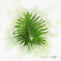 Artur-Wasielewski-Diverse-Pflanzen-Landschaft-Tropisch-Moderne-Moderne