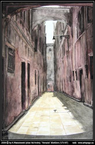 Artur Wasielewski, Venezia, Dekoratives, Architektur