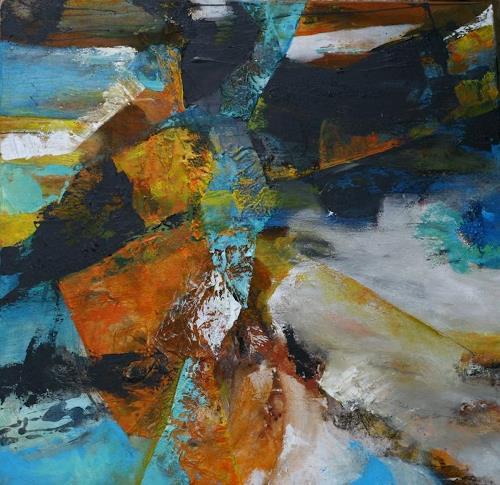Agnes Lang, o.T., Abstraktes, Fantasie, Gegenwartskunst, Abstrakter Expressionismus