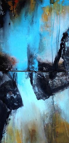 Agnes Lang, Mirage, Abstraktes, Diverse Landschaften, Gegenwartskunst, Expressionismus