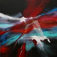 Agnes-Lang-Abstraktes-Diverses-Moderne-Abstrakte-Kunst-Informel