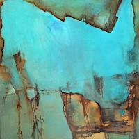 Agnes-Lang-Abstraktes-Natur-Wasser-Gegenwartskunst--Gegenwartskunst-