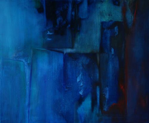 Agnes Lang, Das Blau, Diverses, Abstraktes, Gegenwartskunst