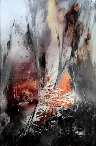Agnes Lang, Inbrunst, Diverses, Abstraktes, Gegenwartskunst, Expressionismus