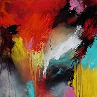 Agnes-Lang-Abstraktes-Fantasie-Gegenwartskunst--Gegenwartskunst-