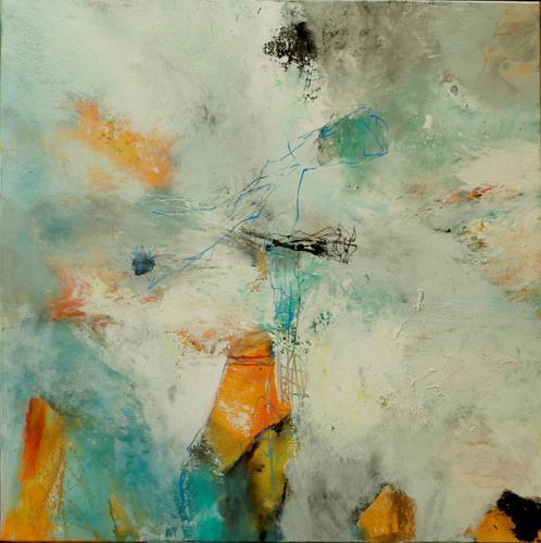 Agnes Lang, Alabaster, Abstraktes, Fantasie, Abstrakte Kunst, Abstrakter Expressionismus