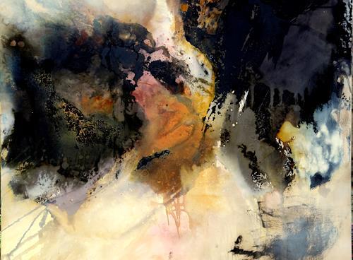 Agnes Lang, o.T., Bewegung, Fantasie, Informel, Abstrakter Expressionismus