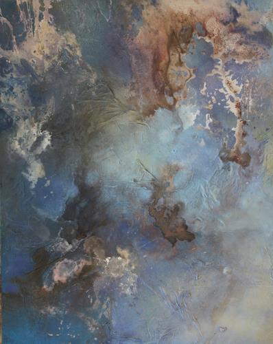 Agnes Lang, Himmelswelten ll, Natur, Landschaft, Gegenwartskunst, Expressionismus