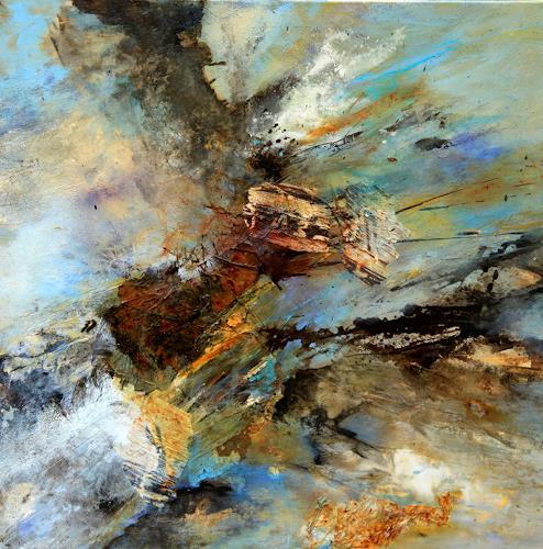 Agnes Lang, Fliehkraft, Diverses, Bewegung, Gegenwartskunst, Abstrakter Expressionismus