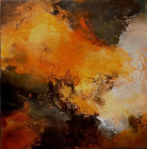 Agnes Lang, Naturgewalt, Fantasie, Abstraktes, Abstrakte Kunst, Expressionismus