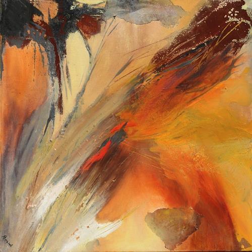 Agnes Lang, Vom Winde verweht, Fantasie, Bewegung, Informel