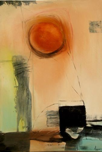 Agnes Lang, Raumfänger, Fantasie, Abstraktes, Abstrakte Kunst