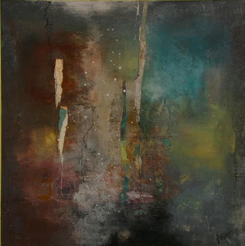 Agnes Lang, Traumwelt, Abstraktes, Fantasie, Moderne