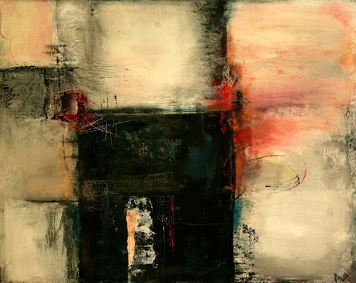 Agnes Lang, 7 Bilder, Abstraktes, Dekoratives, Moderne, Abstrakter Expressionismus