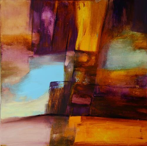 Agnes Lang, 0.T.7, Abstraktes, Fantasie, Moderne