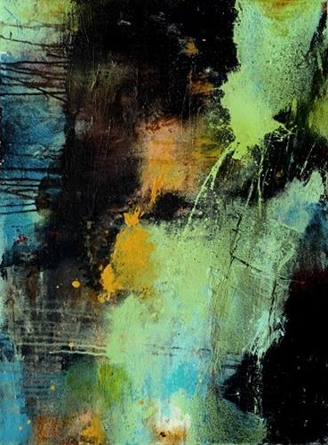 Agnes Lang, Elision, Abstraktes, Fantasie, Informel, Expressionismus