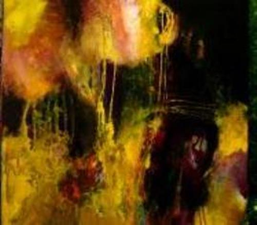 Agnes Lang, Potpourri ll, Abstraktes, Fantasie, Informel