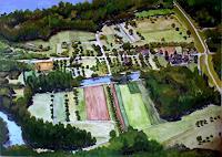 hofmannsART, Luftbild von Altdettenheim