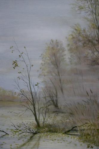 hofmannsART, Novembertag, Landschaft: Herbst, Zeiten: Herbst, Realismus