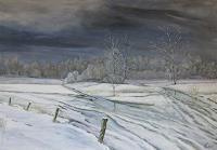 hofmannsART-Landschaft-Winter-Zeiten-Winter-Moderne-Naturalismus