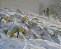 hofmannsART-Landschaft-Winter-Natur-Diverse-Moderne-Impressionismus