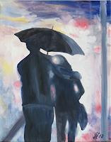 hofmannsART-Menschen-Paare-Gefuehle-Liebe-Moderne-Impressionismus-Neo-Impressionismus