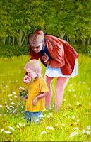 hofmannsART-Menschen-Frau-Menschen-Kinder-Moderne-Impressionismus