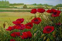 hofmannsART-Landschaft-Sommer-Pflanzen-Blumen-Moderne-Impressionismus