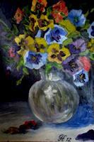 hofmannsART-Stilleben-Pflanzen-Blumen-Moderne-Impressionismus
