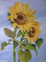 hofmannsART-Pflanzen-Blumen-Natur-Diverse-Moderne-Impressionismus
