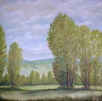 hofmannsART-Landschaft-Sommer-Diverse-Landschaften-Moderne-Impressionismus