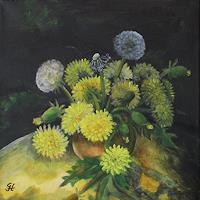 hofmannsART-Pflanzen-Blumen-Moderne-expressiver-Realismus