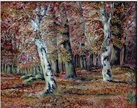 G. Hofmann, Herbstwald