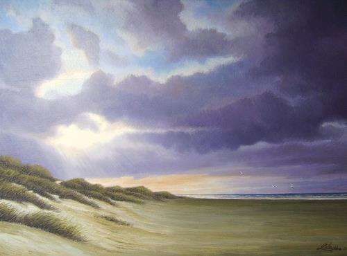 Lothar Strübbe, Langeoog, Landschaft: See/Meer, Natur: Wasser, Naturalismus