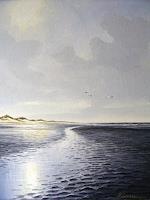 Lothar-Struebbe-Landschaft-Strand-Landschaft-See-Meer-Moderne-Naturalismus