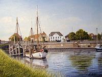 Lothar-Struebbe-Landschaft-See-Meer-Landschaft-Sommer-Moderne-Naturalismus