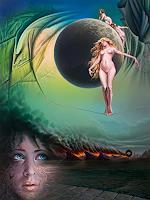 Roland-H.-Heyder-Akt-Erotik-Akt-Frau-Menschen-Kinder-Gegenwartskunst-Postsurrealismus