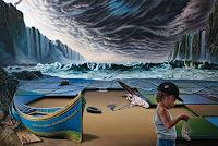 Roland-H.-Heyder-Landschaft-See-Meer-Natur-Erde-Moderne-Fotorealismus-Hyperrealismus