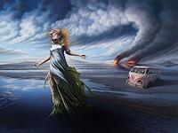 Roland-H.-Heyder-Menschen-Frau-Gefuehle-Angst-Moderne-Fotorealismus-Hyperrealismus