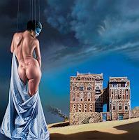 Roland-H.-Heyder-Akt-Erotik-Akt-Frau-Skurril-Moderne-Fotorealismus-Hyperrealismus