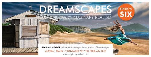 Roland H. Heyder, Dreamscapes VI, Fantasie, Landschaft: Strand, Postsurrealismus