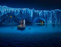 Roland-H.-Heyder-Landschaft-Berge-Natur-Wasser-Moderne-Fotorealismus-Hyperrealismus