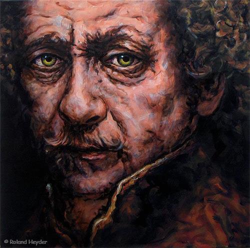 Roland H. Heyder, Rembrandt, Geschichte, Menschen: Mann, expressiver Realismus, Abstrakter Expressionismus