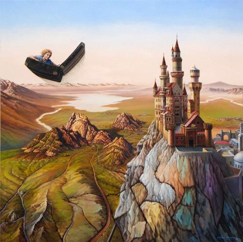 Roland H. Heyder, Der fliegende Koffer, Märchen, Fantasie, Realismus