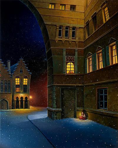 Roland H. Heyder, Das kleine Mädchen mit den Schwefelhölzchen, Märchen, Zeiten: Winter, Realismus