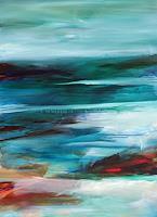 Ute-Laum-Landschaft-See-Meer-Natur-Wasser-Moderne-Expressionismus